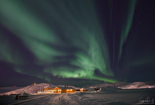 Dancing Out in Space - Turistua, Hammerfest 11.01.2016