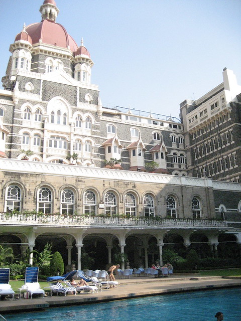 Taj hotel Mumbai, swimming pool