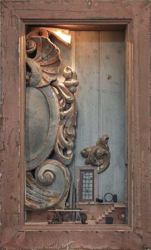 B128 - Peter Gabriëlse- box sculpture, new work at Kunst & Antiek Weekend - Naarden 2016