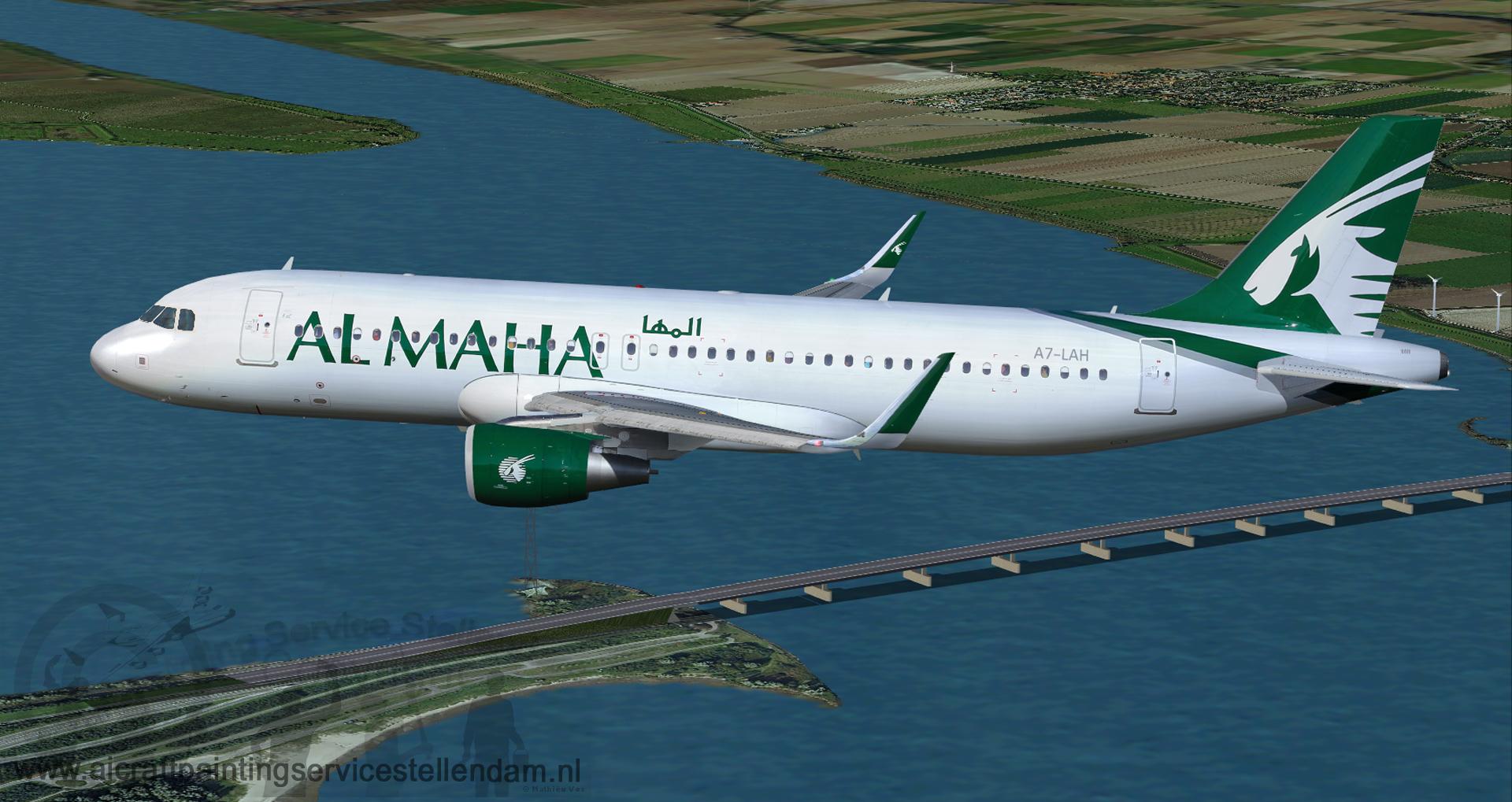 ProjectAirbusA320-214wl_Almaha Airways_A7-LAH5