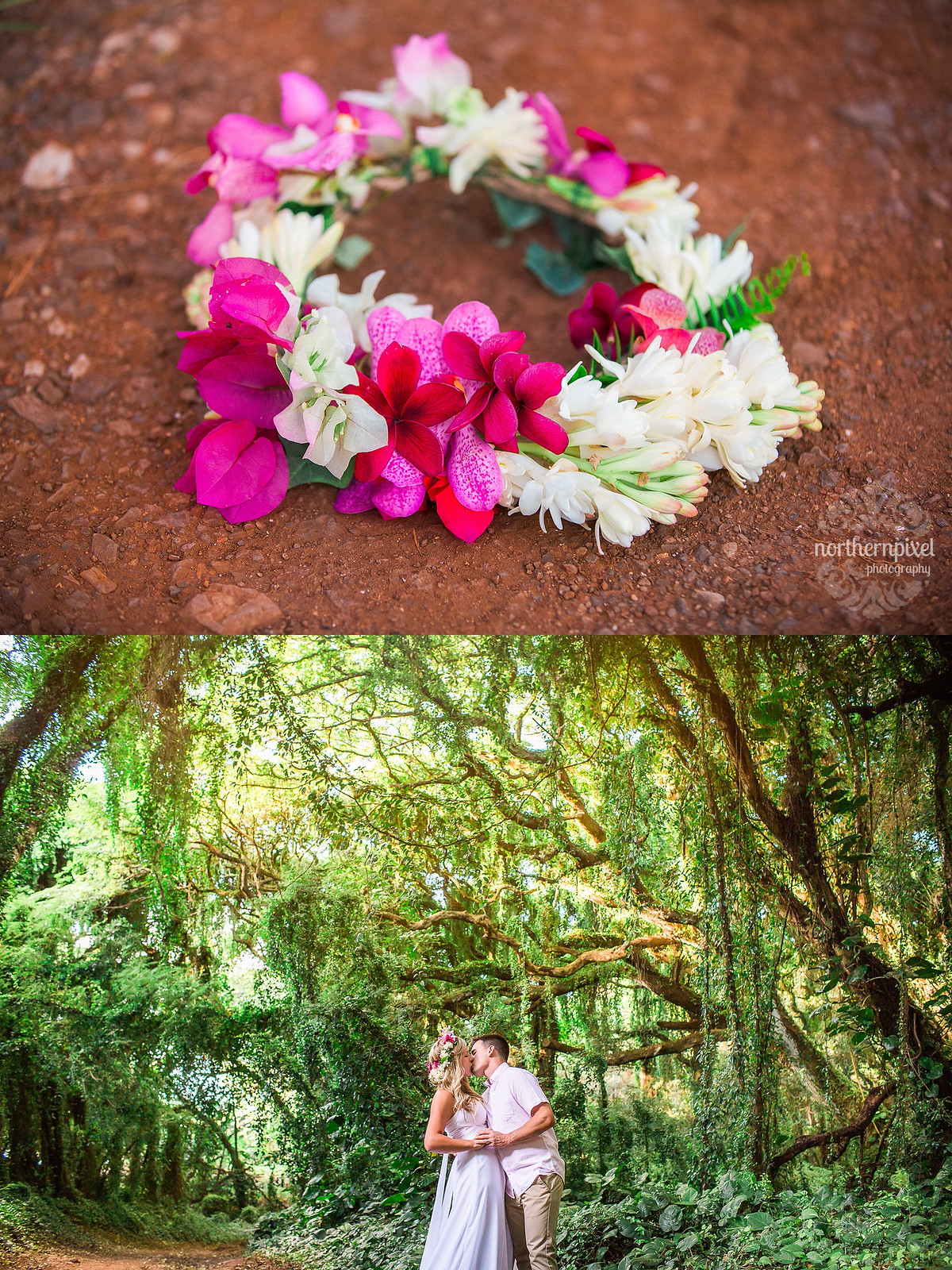 Flower Crown Forest Photosession