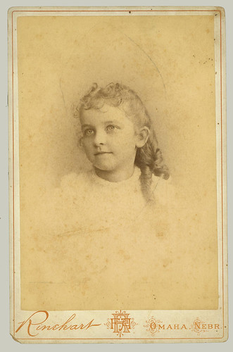 Cabinet Card young girl