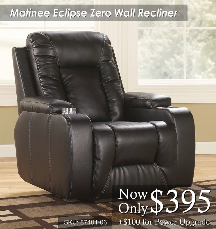 Matinee Eclipse Zero Wall Recliner