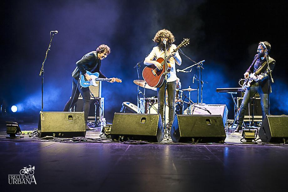 imágenes del concierto de Ángel Stanich en el auditorio de la universidad Carlos II. 30-1-2016
