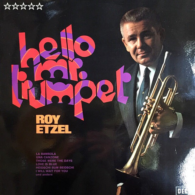 Hello Mr. Trumpet (#fonts from the flea market 1008)