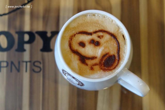 24889870133 237aea5dcc z - 【台中西屯】查理布朗咖啡.Charlie Brown Cafe:位於秋紅谷正對面鄰近朝馬車站,環境很漂亮也很好拍,餐點可愛觀賞性大於美味性