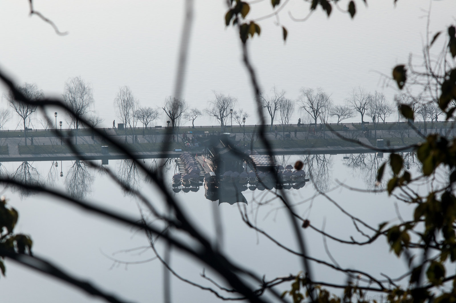West Lake, early morning, Hangzhou