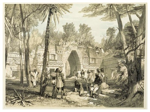008- Entrada en Labnah-Views of ancient monuments in Central America…1844- F. Catherwood