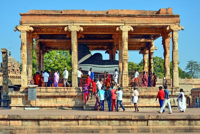 India - Tamil Nadu - Thanjavur - Brihadeshvara Temple - Nandi Shrine - 859
