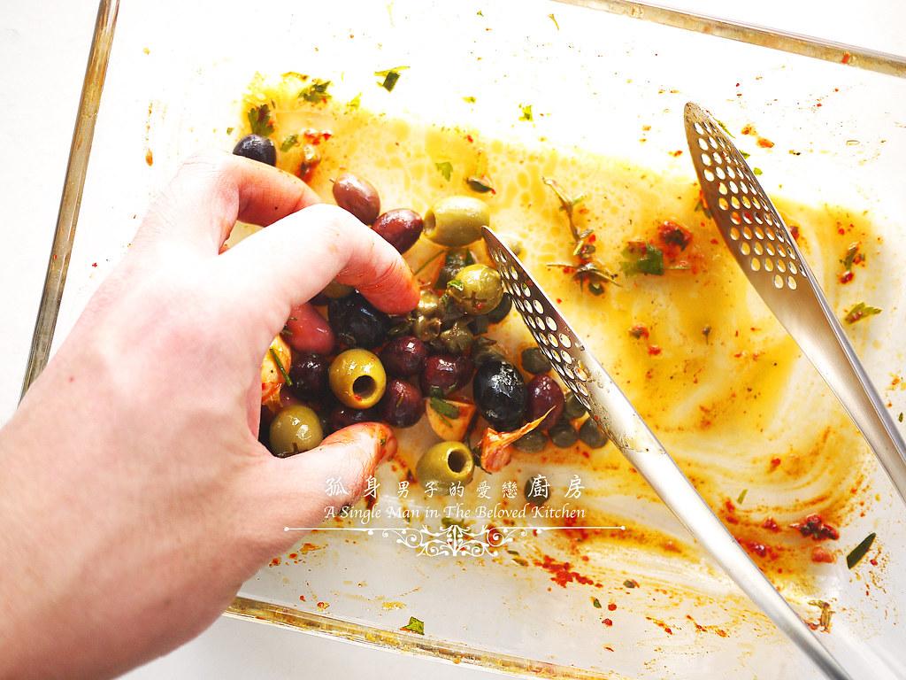 孤身廚房-橄欖柑橘香烤赤鯮11