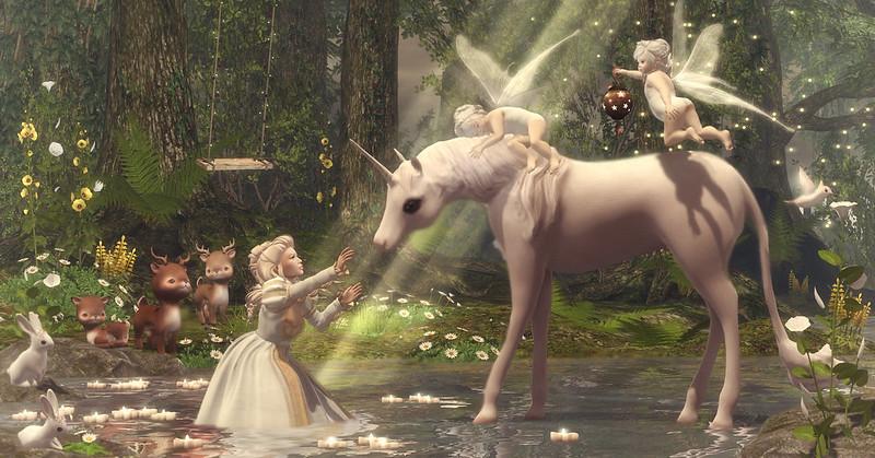 Amelie et les petites: The Last Unicorn