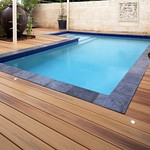 DuraLife Siesta decking in Golden Teak