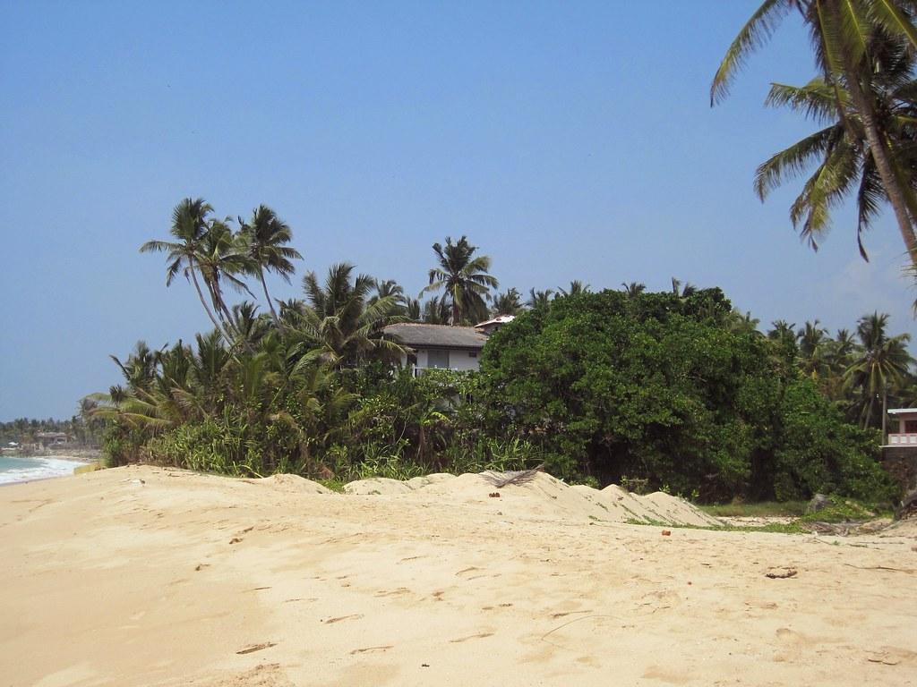 2012 Sri Lanka - Haus am Meer