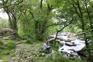 Picnic stop in the beatiful Welsh countryside
