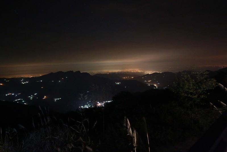 夜晚的城鎮