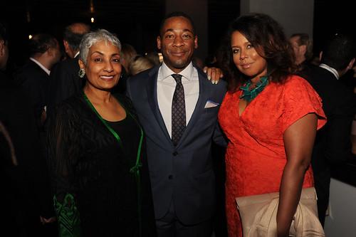 Padma Vattikuti, Franklin Sirmans, & Jessica Sirmans at PAMM Art of the Party