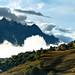 Les nuages laissent apparaître Villard Reculas by Aurélien GROSJEAN
