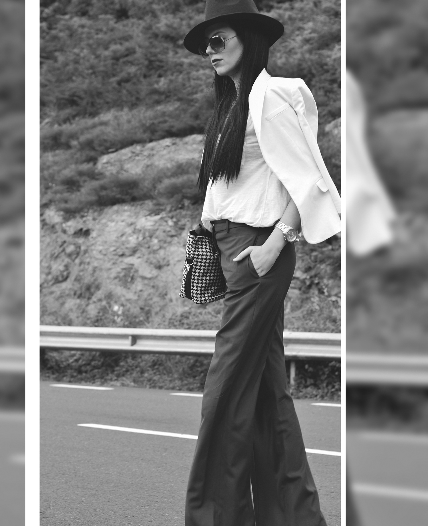 black-white-photography-blogger-fashion-model-wide-leg-pants-stylish-classy-chic-minimalist-editorial (2)