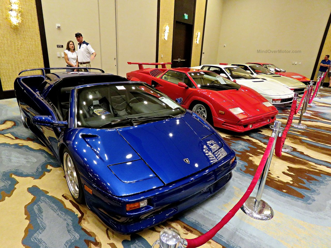 Amelia Island 2016 Festivals of Speed Auction Lambos