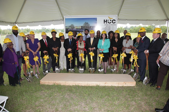 North Forest Ground Breaking
