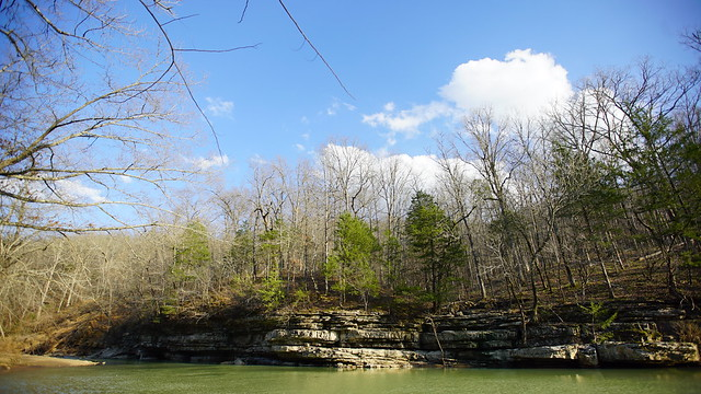 Devil's Den State Park in Arkansas