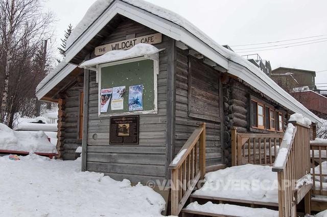 Wildcat Cafe, one of Yellowknife's earliest buildings