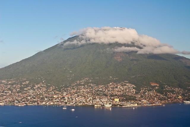 La ciudad de Ternate