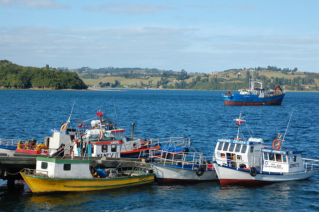 Views of Castro, Chiloé, Chile
