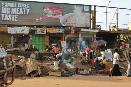 Street in Kampala