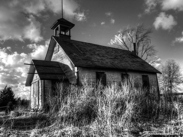 Abandoned Ontario Schoolhouse - Ontario Abandoned Places