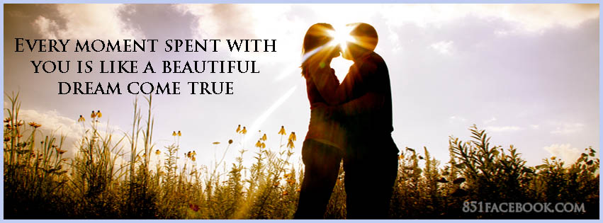 Quote Love Couple Romantic Sunset Timeline Cover