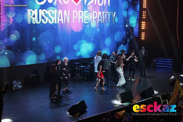 Moscow Eurovision party - the show