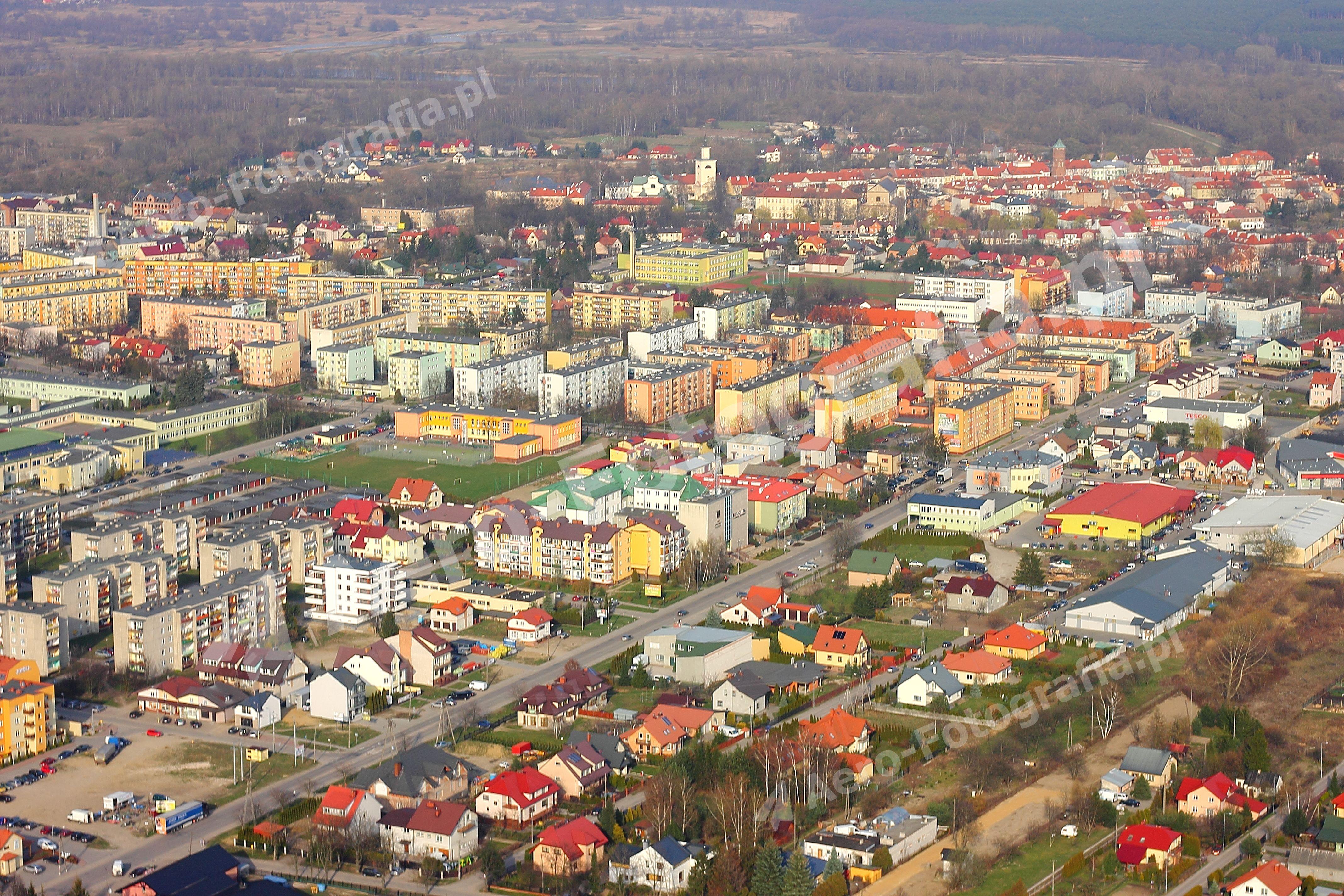 Pułtusk - odległa panorama V.