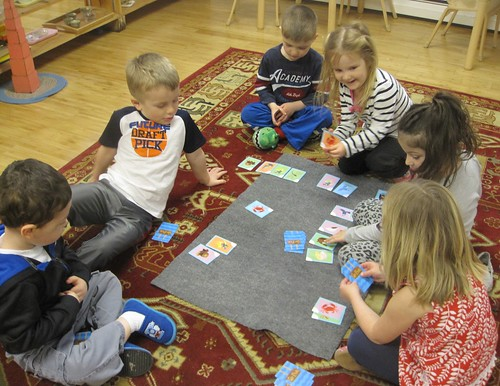 "Friday ""Go Fish"" game"