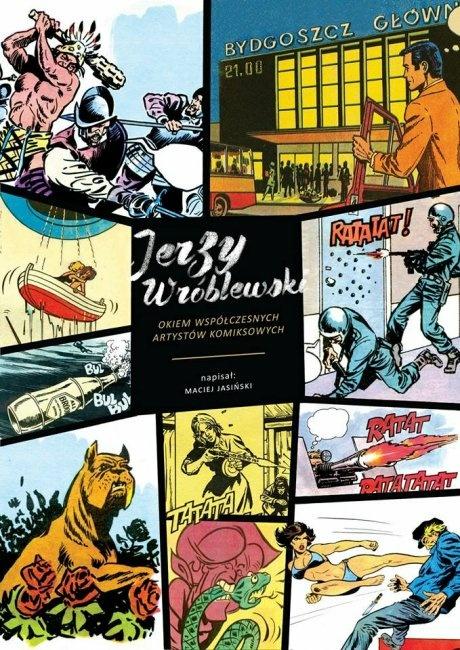 Jerzy Wróblewski okiem współczesnych artystów komiksowych v2