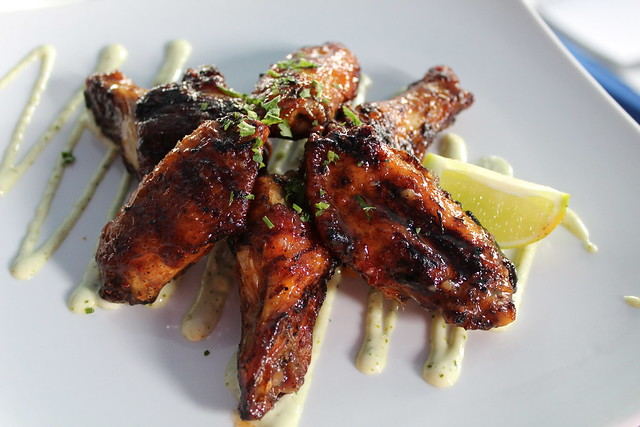 Captain Jack's Galley Smoked Wings at Bay of Pines