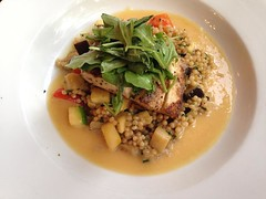 Mahi with Couscous.