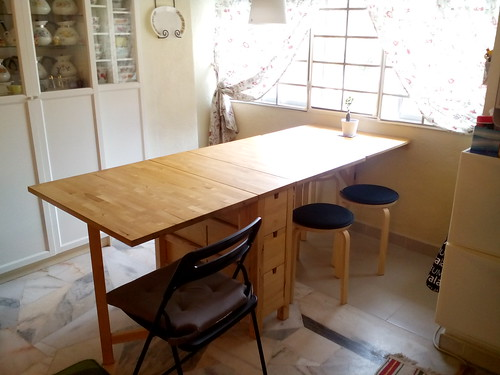 My dining table - Norden & Norbo combo