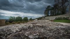 Rempart du château de Pouzauges