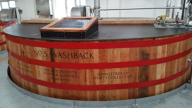 No.5 Washback at Mortlach Distillery