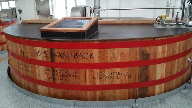 No.5 Washback at Mortlach Distillery