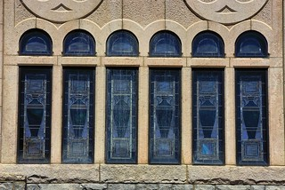 Imageof First Church of Christ Scientist. symmetry giveusyourbestshot 52weeksofphotography 522016week15 stained glass church boston pentax k200d