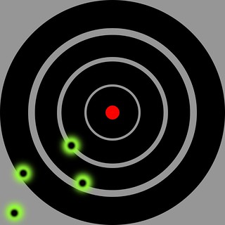 Target, 9mm, First Try