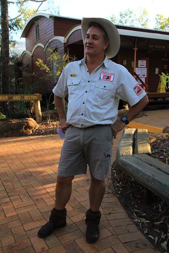澳洲昆士蘭Undara Experience-Savannah Guide Bram Collins-20141116-賴鵬智攝-4
