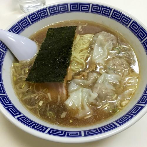 ワンタン麺@いしはら