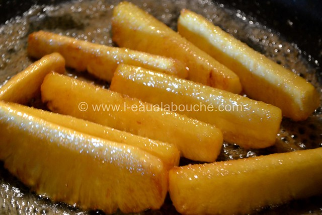 Ananas Caramélisés & Flambés © Ana Luthi Tous droits réservés 006