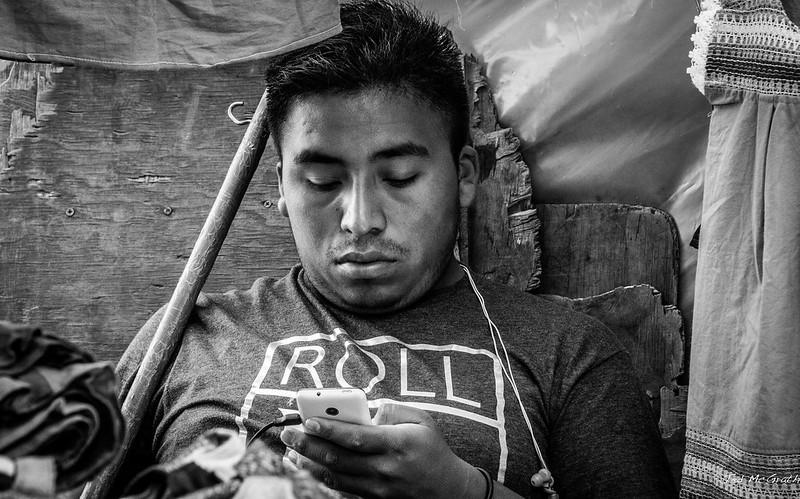2015 - MEXICO - San Cristobal de las Casas - Boy Bored