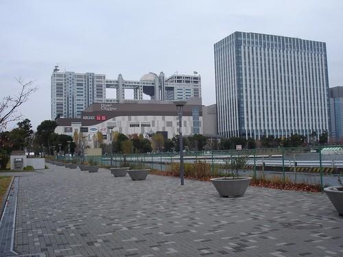 東京カジノ構想の舞台 お台場