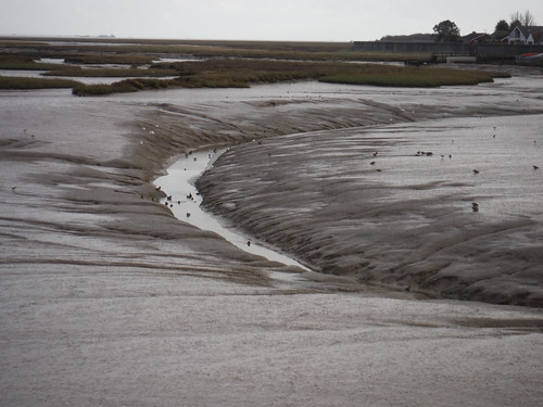 Channel in Creek at Low Tide, Canvey Island