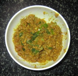 Mutton cutlet - Keeping the mixture to cool